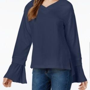 💥SALE J.O.A. Pleated Cuff Sweater Top Oversized